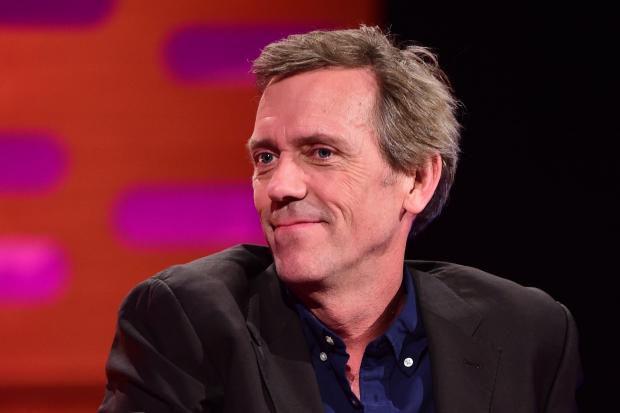Hugh Laurie, pictured, and Peter Capaldi are among stars lending their voices in support of the Malaria Must Die, So Millions Can Live campaign