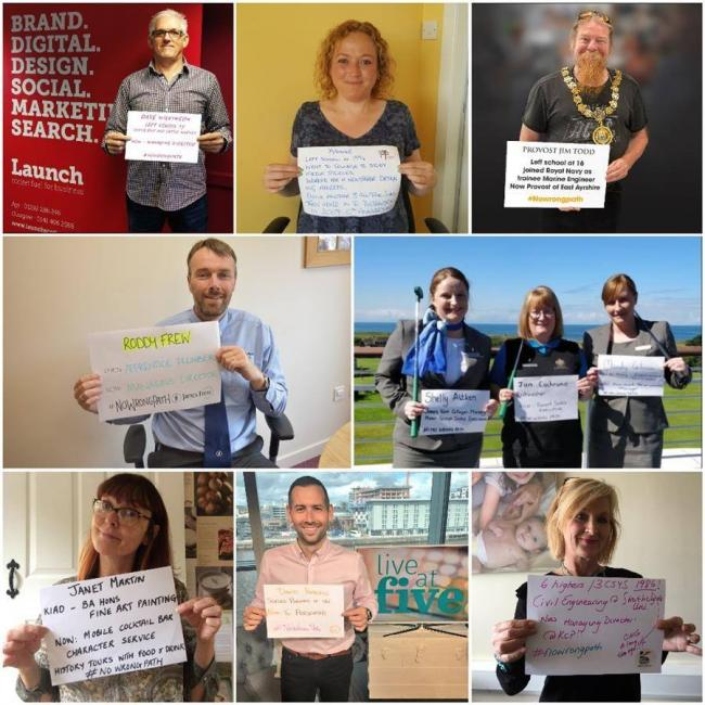 Ayrshire residents urged to support #NoWrongPath ahead of exam results day