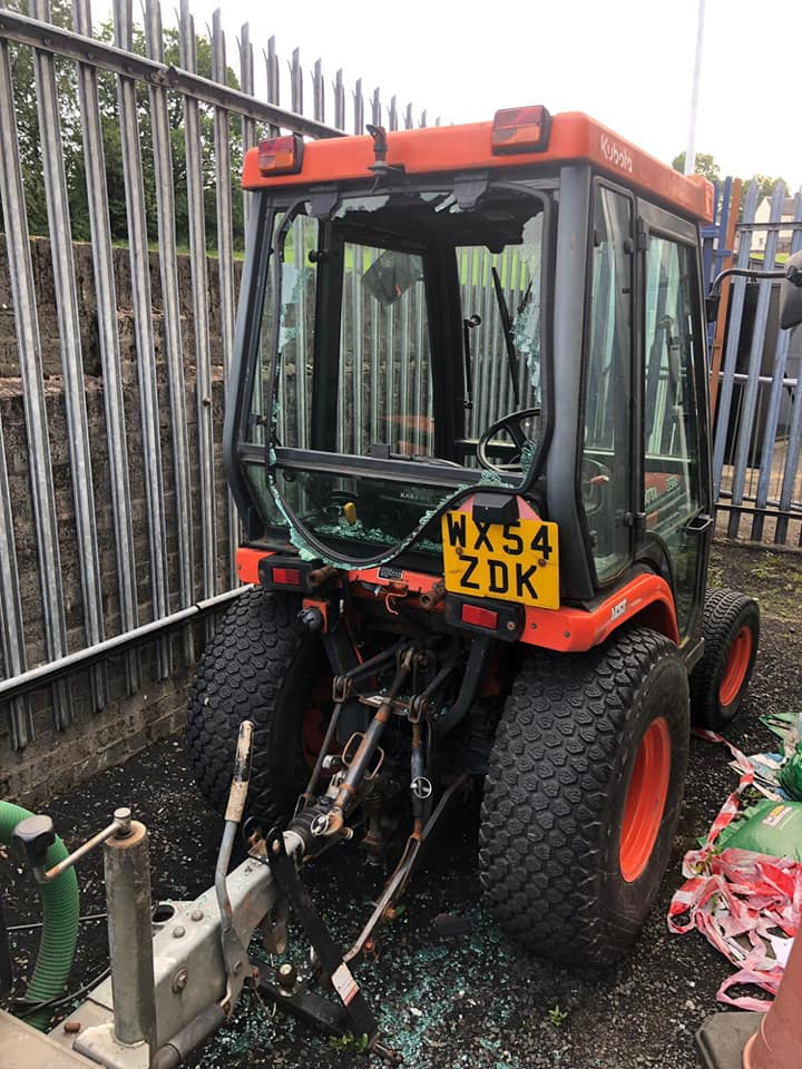 Vandals strike at Beith Juniors leaving hundreds of pounds of damage