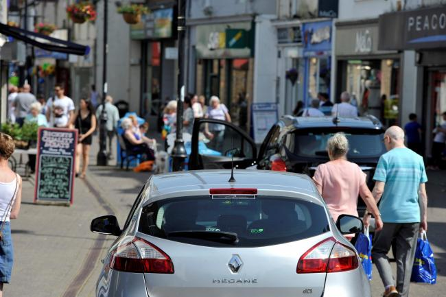 Cars in Dockhead Street will soon be a thing of the past.