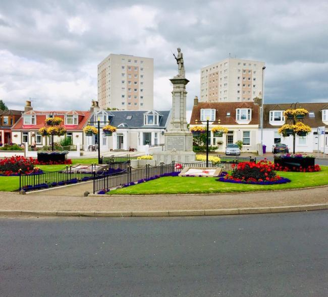 Saltcoats War Memorial.