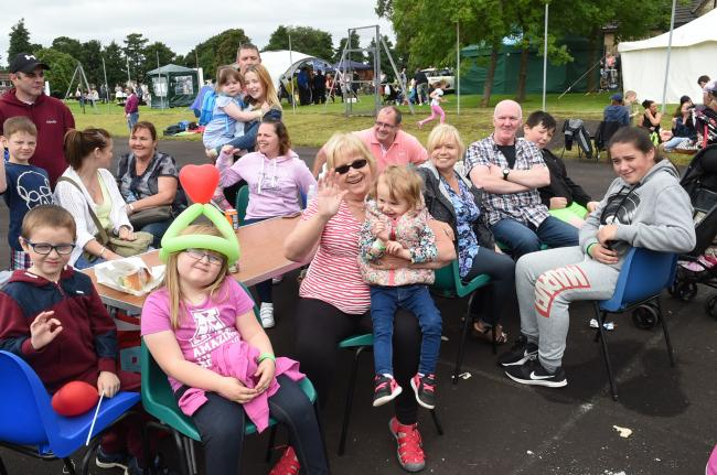 Picnic in the Park at McGavin Park,Kilwinning.
