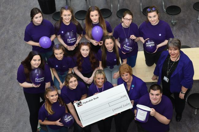 Ayrshire Hospice urges workplaces to take part in Go Purple Day for Care Week