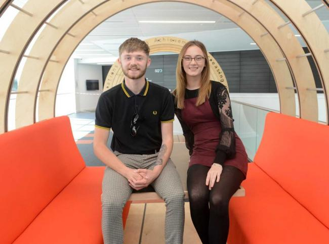 Two Ardrossan students win presidential roles at Ayrshire College