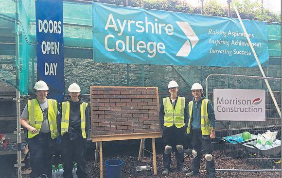 Double award nod for Ayrshire College
