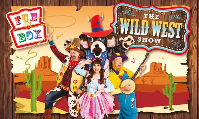 WIN tickets to FUNBOX'S family friendly Wild West Show in Ayrshire