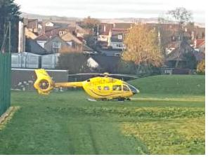 Schoolgirl hit by a car in Kilwinning