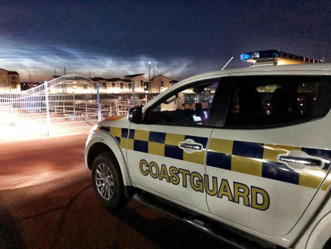 Coastguard called out after person reported missing in Ardrossan