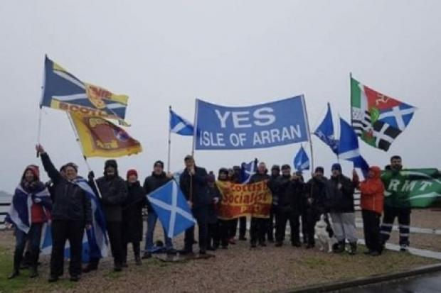 Independence marchers undeterred after weather cancels plans