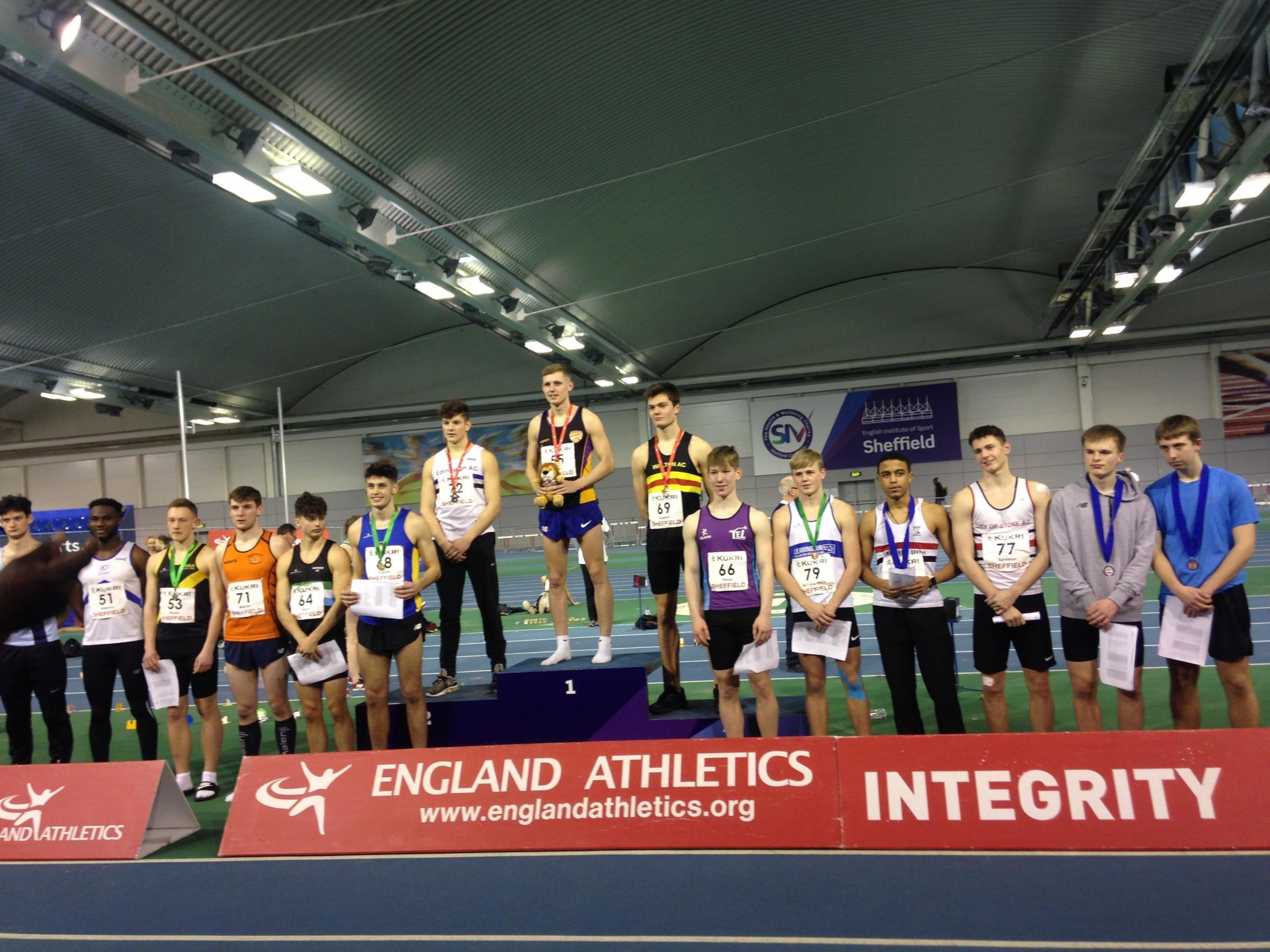 Beith teenager Scott Brindley triumphs as heptathlon champion