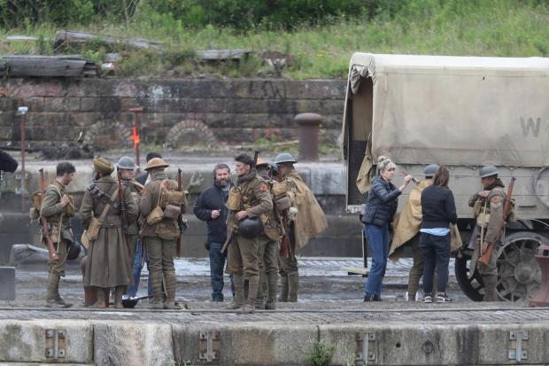 Ardrossan and Saltcoats Herald: Filming of 1917