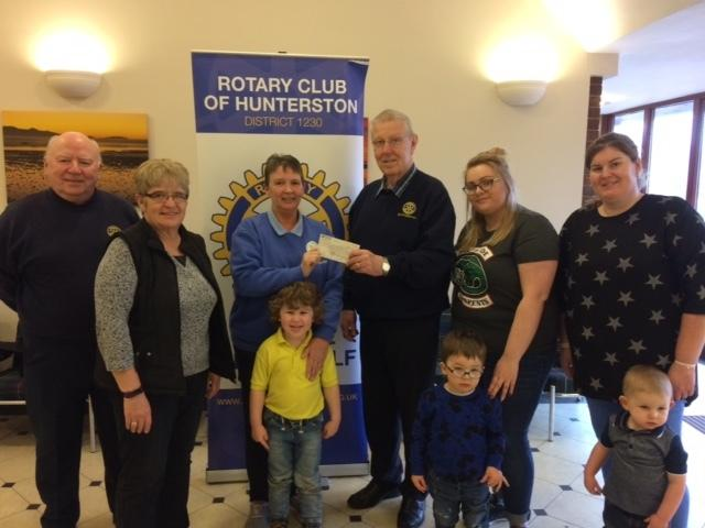 Rotary club's new community awards scheme off to a 'flying' start