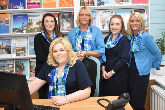 Team at LAH Travel, West Kilbride.