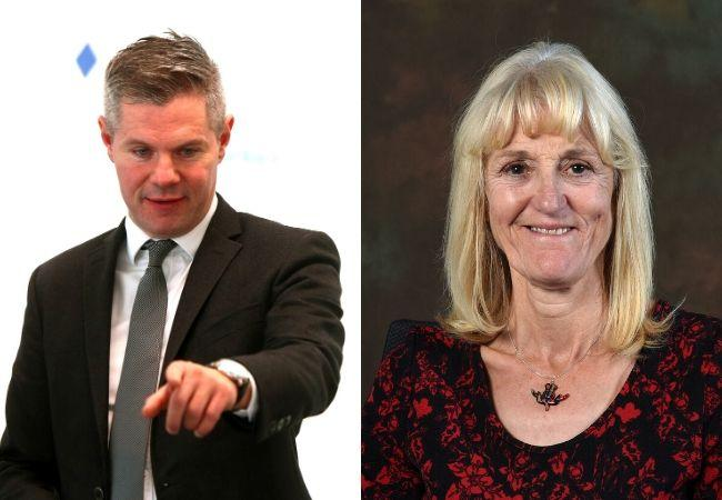 Derek Mackay fell for a 'honey trap' commented Councillor Jean McClung