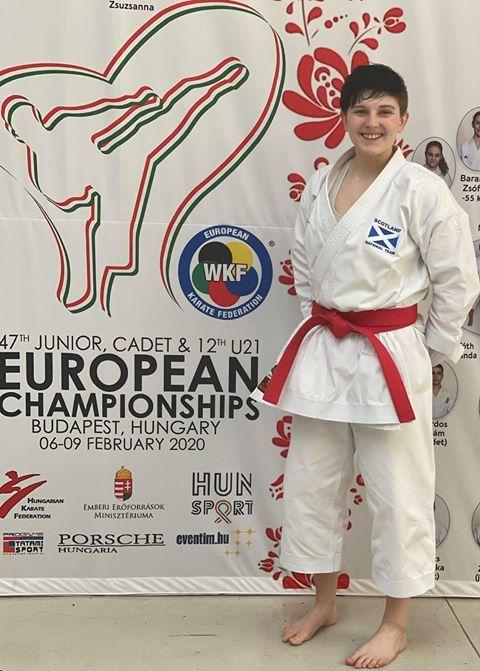 Aria performed brilliantly in the European Championships.