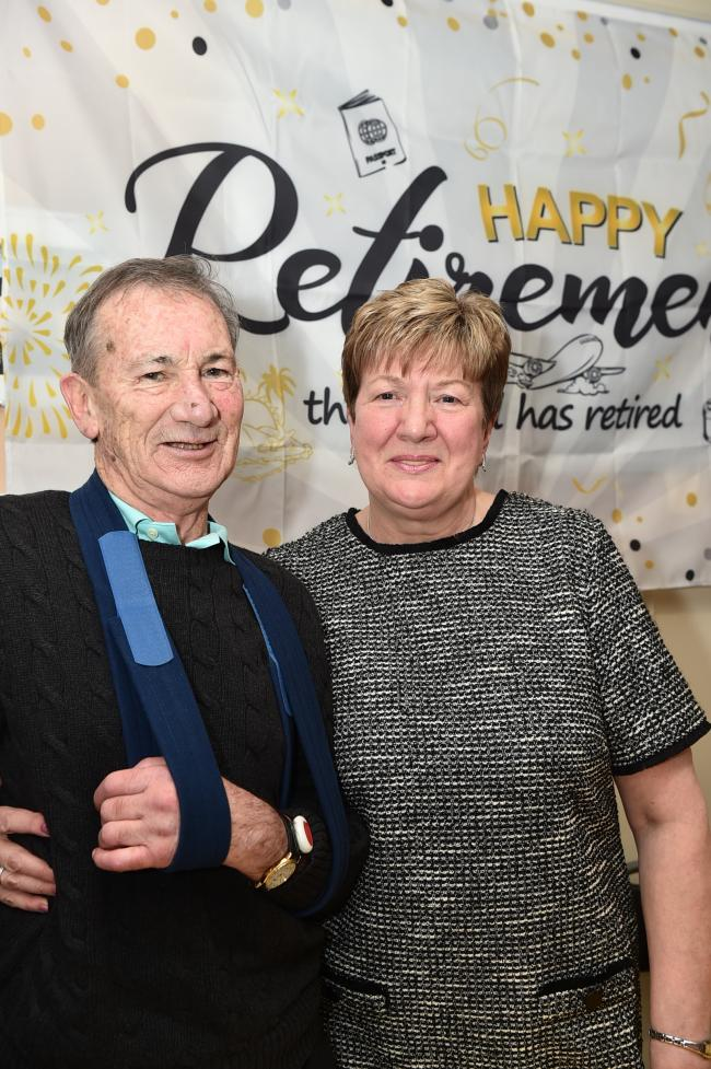 Ardrossan care home holds a farewell party