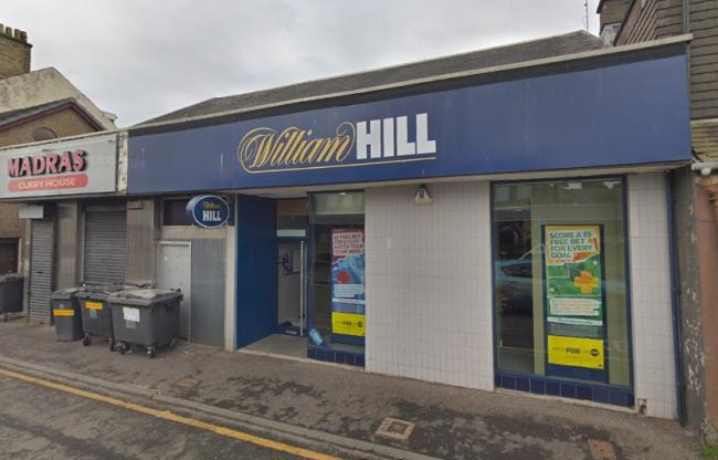 Former William Hill on New Street could be set to become an eatery