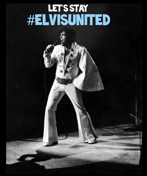 Ardrossan and Saltcoats Herald: Poster for the Elvis United group.