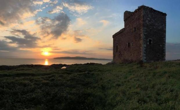 Ardrossan and Saltcoats Herald: Portencross Castle