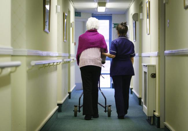 Relatives, friends and carers will be able to visit their loved ones in care homes from early next month