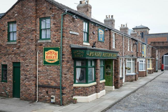 The Rovers Return in Coronation Street