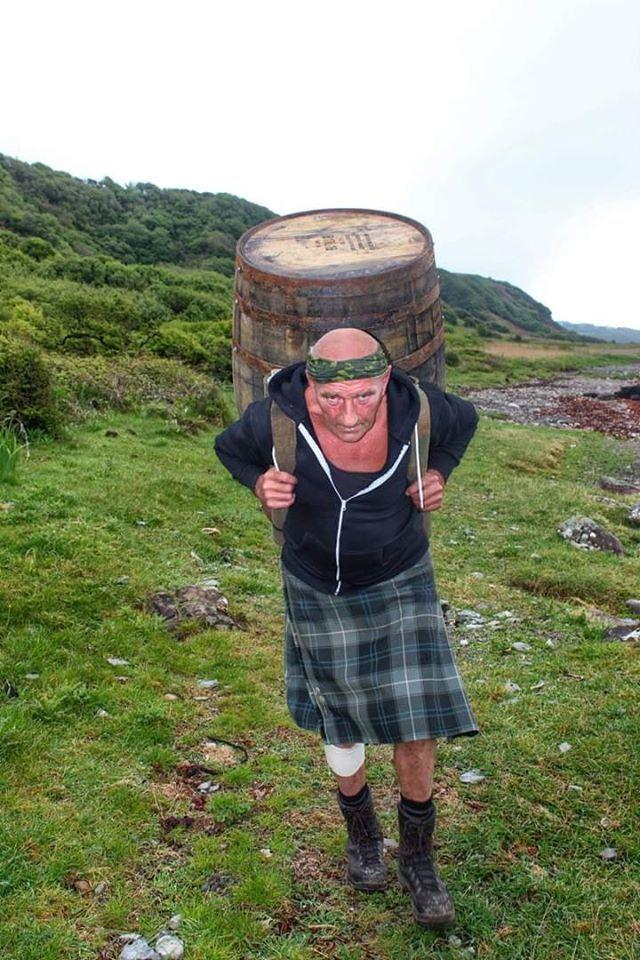 Davy aims to complete the barrel challenge in just 10 days.