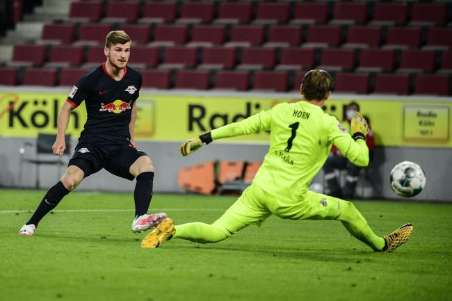 RB Leipzig striker Timo Werner notched his 25th Bundesliga goal of the season against Cologne
