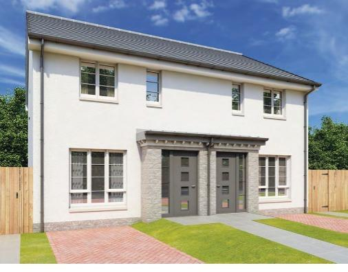 One of the proposed new builds for development: Image: Dawn Homes, McTaggart Construction and Ashtenne
