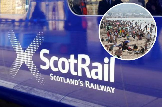 Disruption caused by 'exceptionally high numbers' traveling to Ayrshire coast