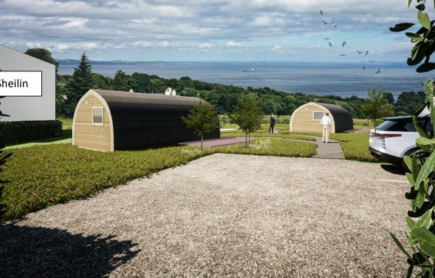 Glamping pods planned for Arran