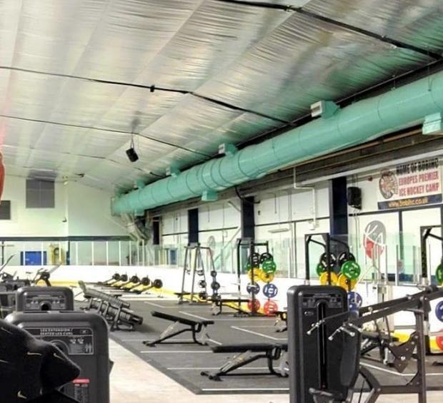 Ardrossan and Saltcoats Herald: The rink is now full of fitness equipment.