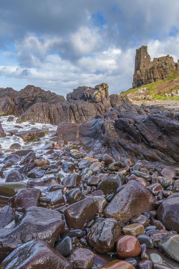 Ardrossan and Saltcoats Herald: Dunure Castle credit: David Long