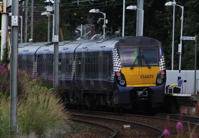 No trains from Ayrshire to Glasgow due to fault