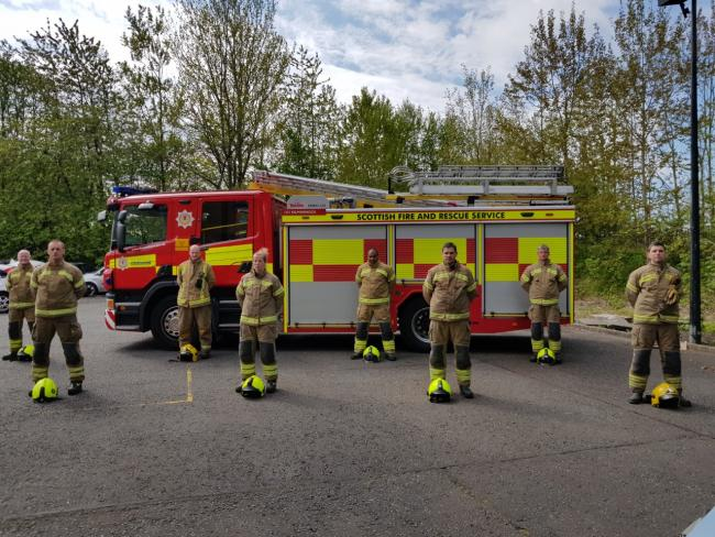 Ayrshire firefighter's to trek 30 miles between five stations carrying full PPE on their back