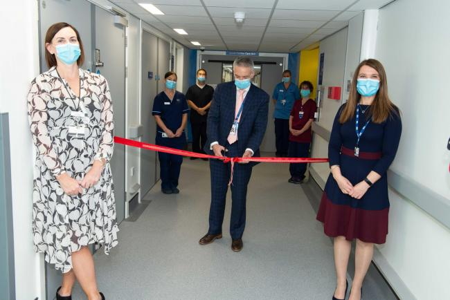 New cardiac unit opens up at Crosshouse Hospital