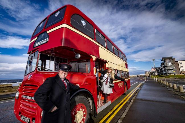 Stagecoach marks 40 years with a vintage bus tour to Cumnock