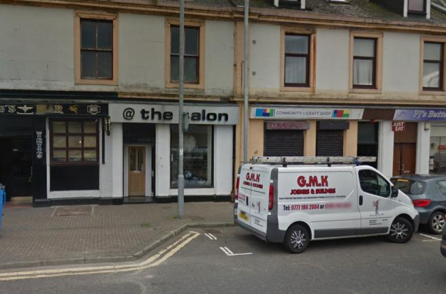 Ardrossan hairdressers closes due to coronavirus