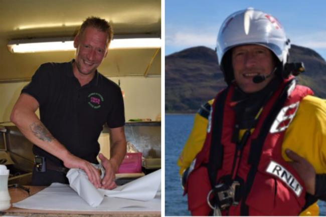 Arran RNLI volunteer: From serving chips to saving lives