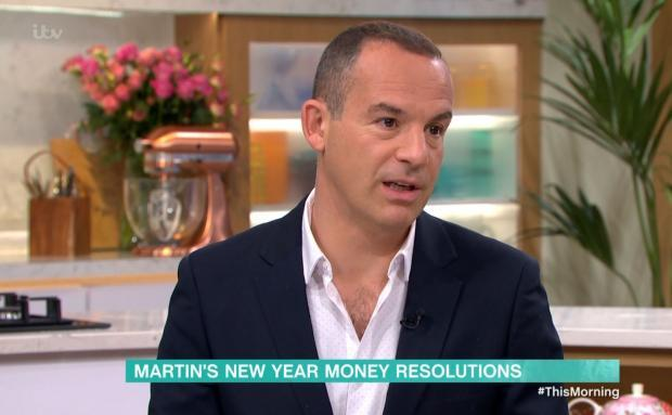 Ardrossan and Saltcoats Herald: Martin Lewis speaking on ITV's This Morning