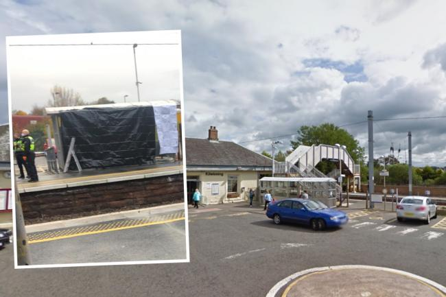 Kilwinning death: Investigation finds man's death at train station not suspicious. Credit: Google Maps. Inset credit: Ardrossan Herald