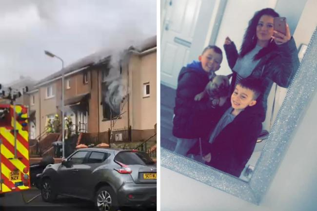 Family left without home for months after double fire horror
