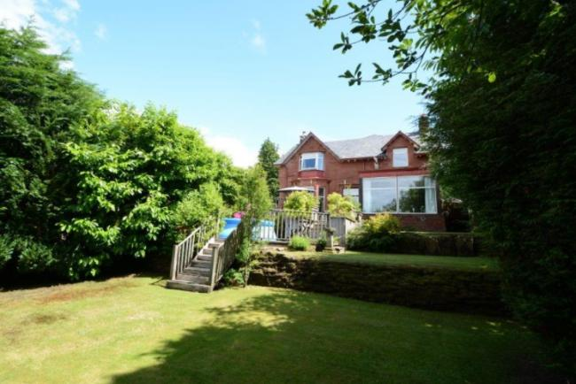 Ayrshire mansion with extensive garden grounds and outdoor entertaining area for sale