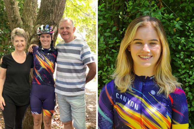Granddaughter of Kilwinning expats signs for pro-cycling team