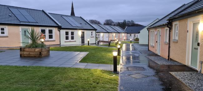 Take a look inside the council's latest housing development