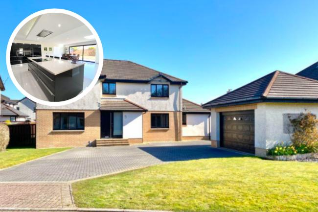 Take a look inside this modern Ayrshire villa with impressive accommodation