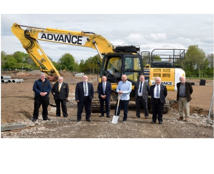 Kilwinning: Official ceremony marks start of new housing project