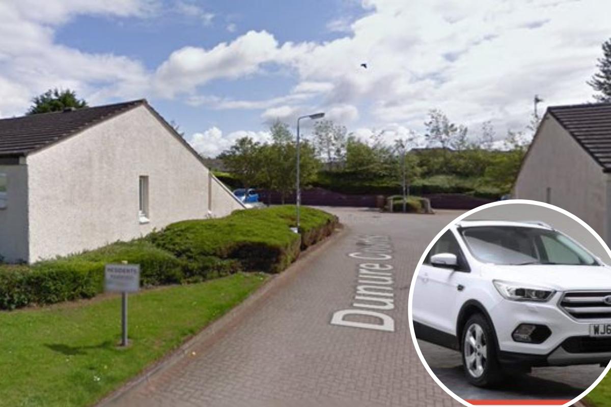 Kilwinning car theft: Daughter makes plea to return stolen vehicle