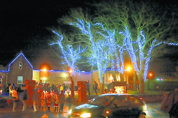 Ardrossan festive lights hit a problem - but the show will go on