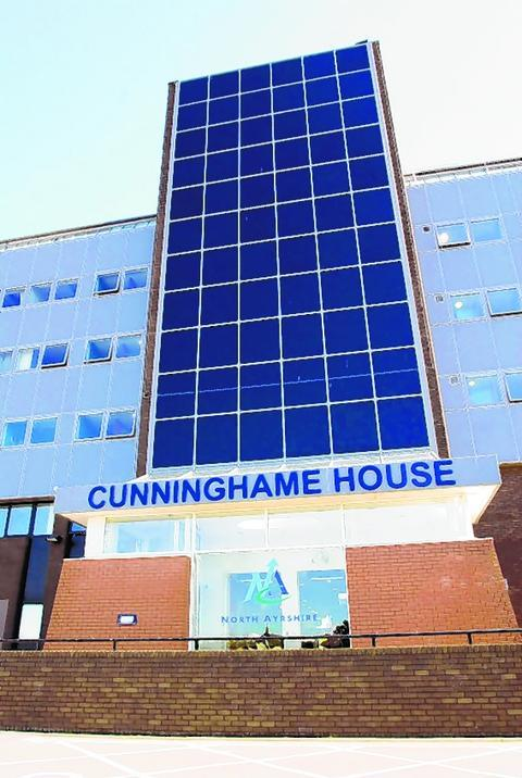 Cunninghame House in Irvine