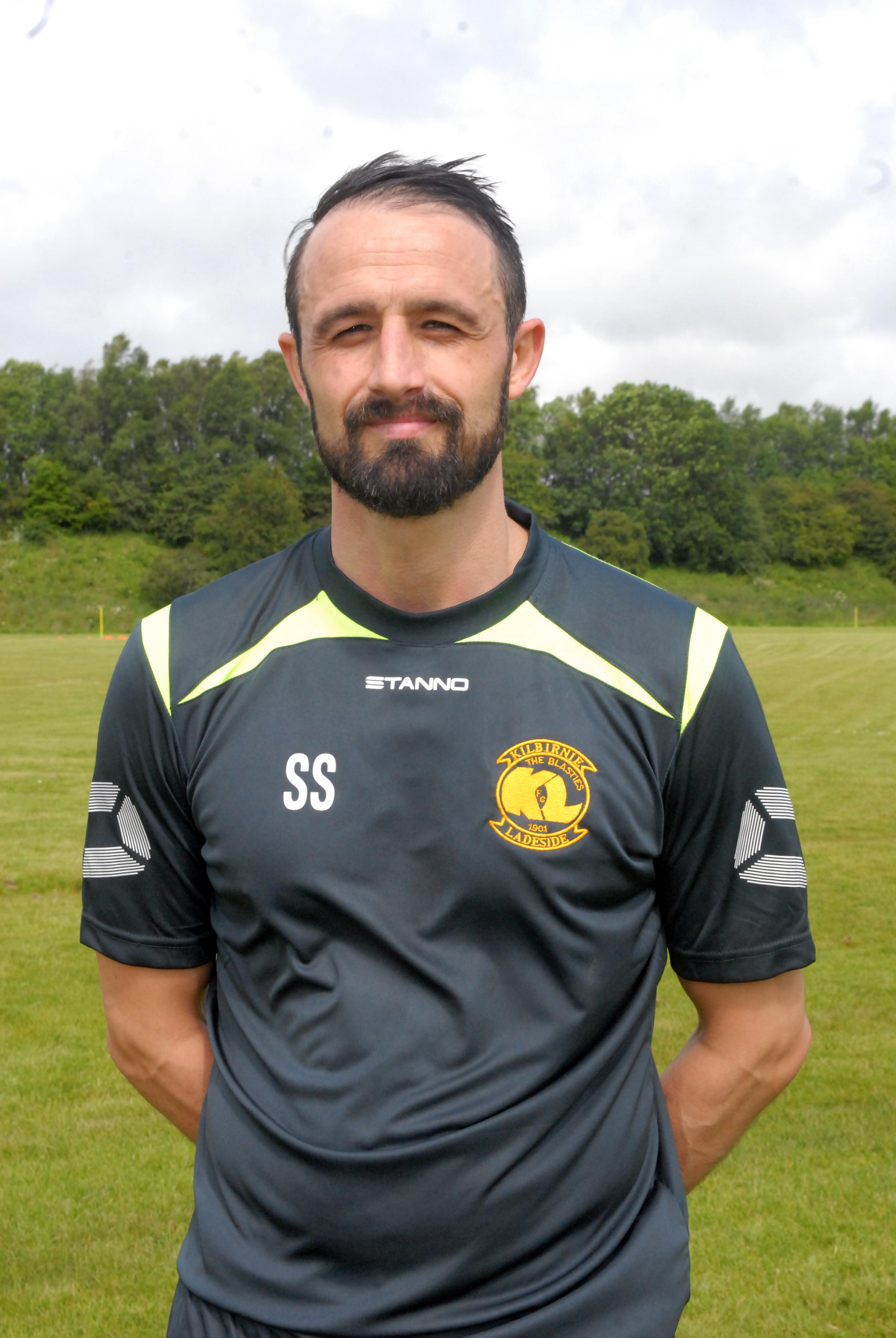 PLAYING RETURN: Stephen Swift has joined Kilwinning Rangers.